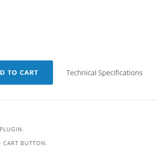 Link after the add to cart button